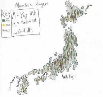 Japan Map Gallery
